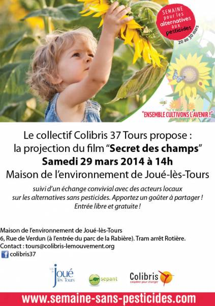 Secret des champs Affiche